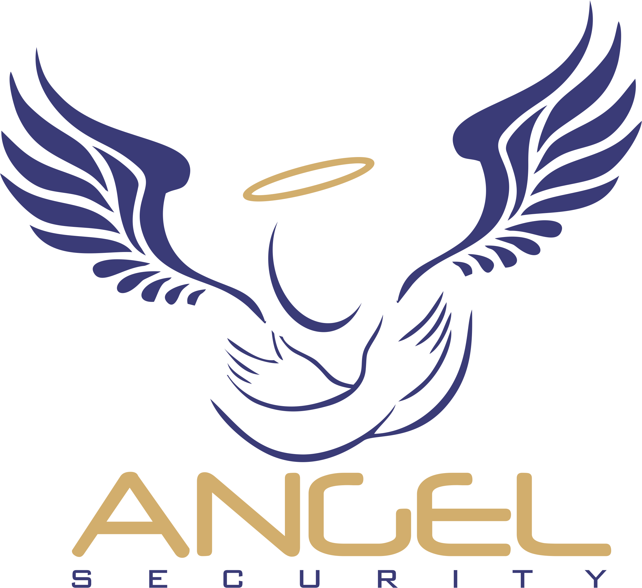 LOGO ANGEL SEGURITY PNG BLANCO